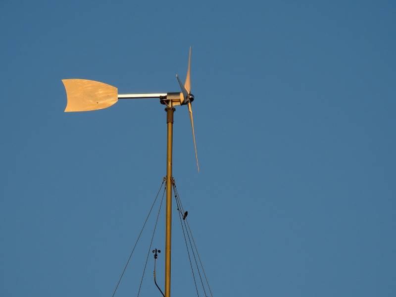 energie renouvelable habitation : eolienne